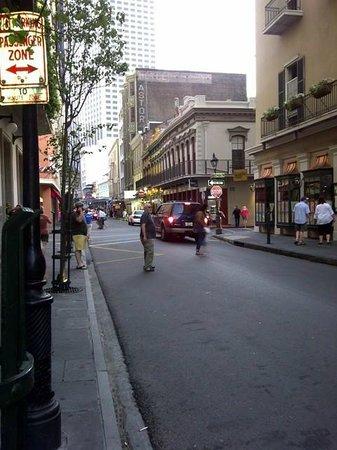 Hotel Monteleone: Royal street, outside Monteleone