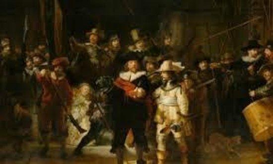 Rijksmuseum Amsterdam: Nachtwacht by Rembrandt