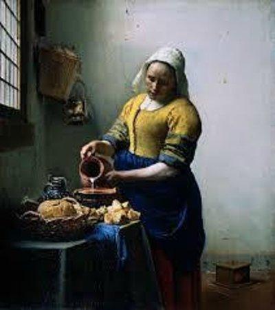 Rijksmuseum Amsterdam: Melkmeisje by Vermeer