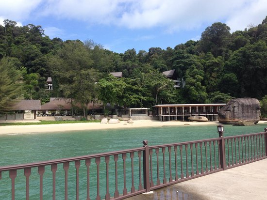 Pangkor Laut Resort: View from our villa
