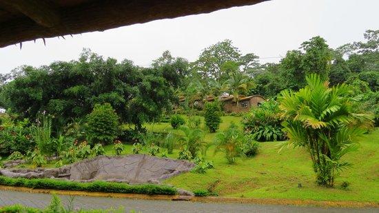 Los Lagos Hotel Spa & Resort : Outside our door