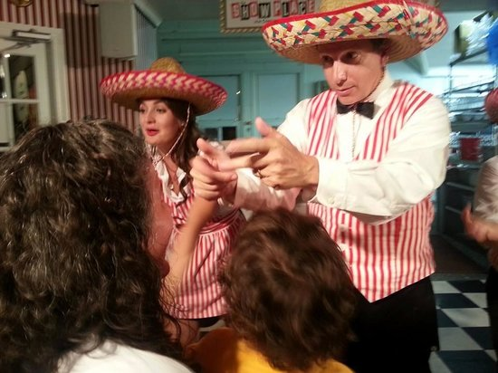 Show Place Ice Cream Parlour: Anybody could end up part of the show