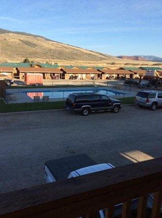 Big Bear Motel : biker parking