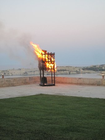 St. John's Fire Event at the Saluting Battery