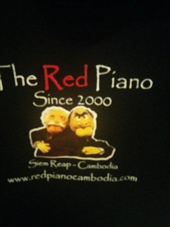 The Red Piano: T shirt 2
