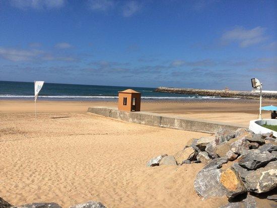 L'Amphitrite Palace: La plage ...