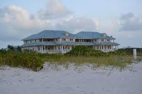 Beach House Turks & Caicos : A pic of Beach House from the beach