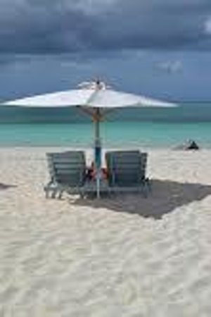 Beach House Turks & Caicos : Our Reserved Beach Chairs