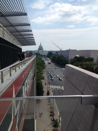 Newseum: view from terrace