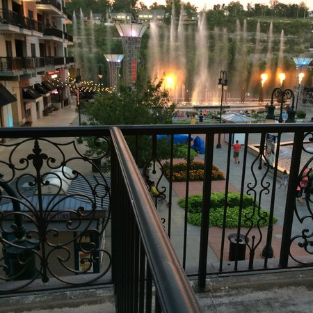 Hilton Promenade at Branson Landing: View of Promenade from our balcony