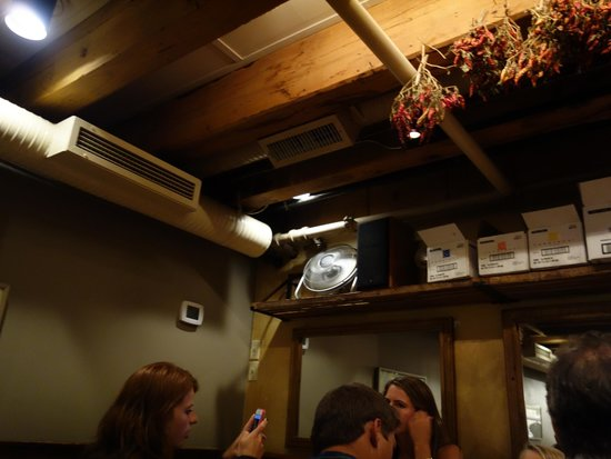 Street and Co. : Boxes tucked behind the rafters