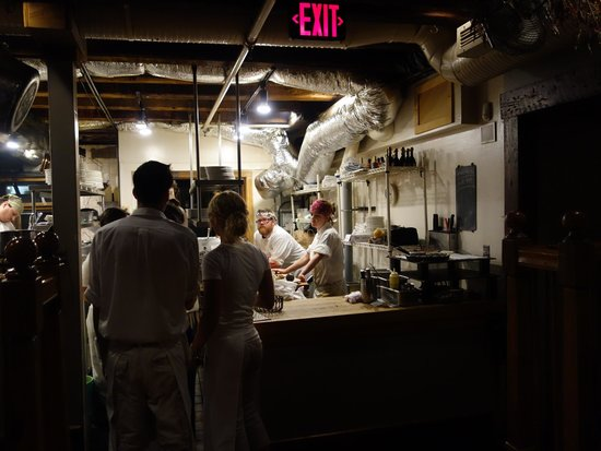 Street and Co. : The kitchen as seen from the central room