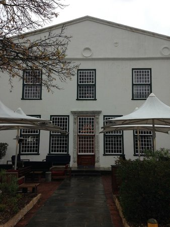 The Alphen Boutique Hotel : Main hotel manor house