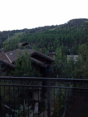 Vail Marriott Mountain Resort: View from balcony