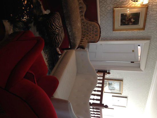 The Alphen Boutique Hotel : The landing outside our suite