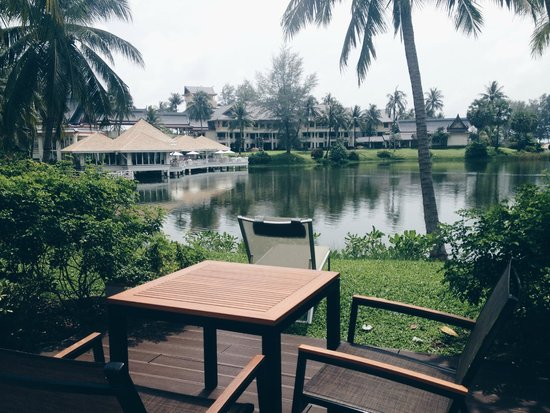 Outrigger Laguna Phuket Beach Resort: view from our room