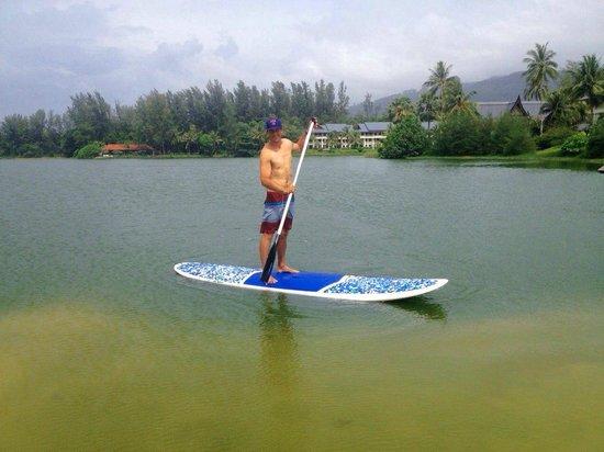 Outrigger Laguna Phuket Beach Resort: free standup paddle boarding