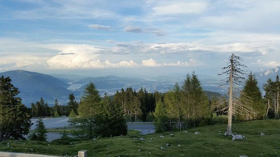 Villacher Alpenstrasse : View of Villach