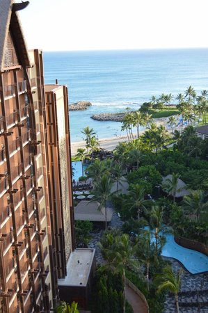 Aulani, a Disney Resort & Spa: Partial Ocean View Room
