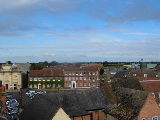 The Dukes Head Hotel: View from the penthouse