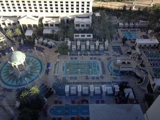 Caesars Palace: View from the room