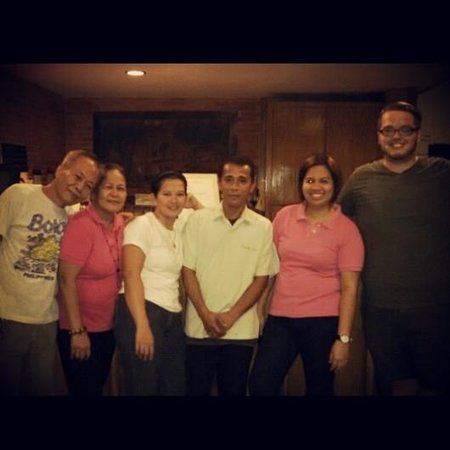 Lucena Fresh Air Hotel: Some Fresh Air Staff...