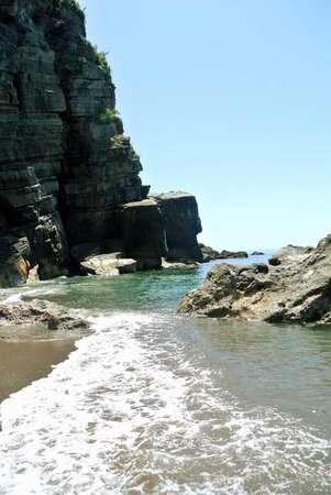 Da Adolfo: bella spiaggia