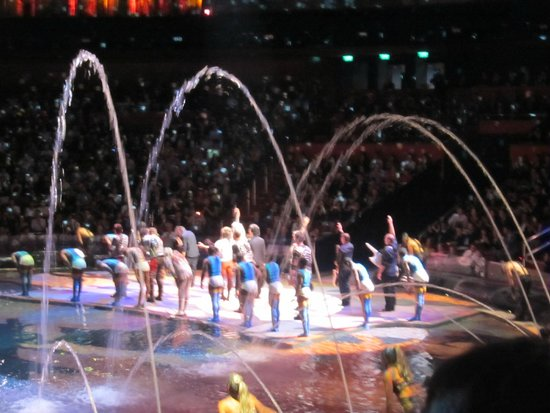 Sheraton Grand Macao Hotel, Cotai Central : The House of Dancing Water Show