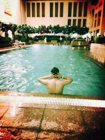 Jaipur Marriott Hotel: very good pool