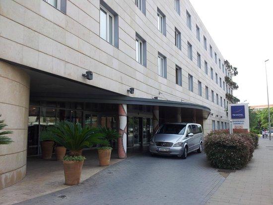 Novotel Barcelona Cornella: Entrée