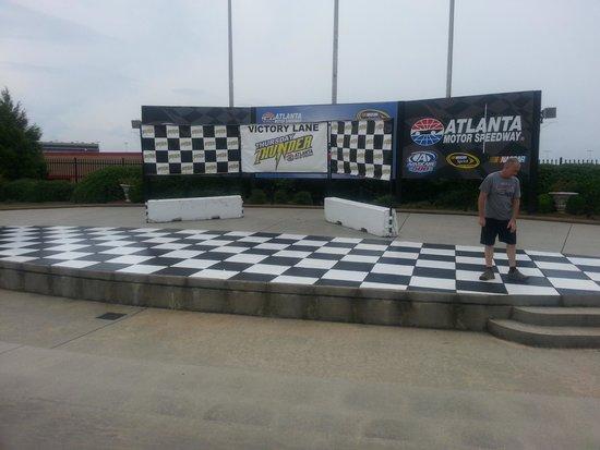Track Laps Picture Of Atlanta Motor Speedway Hampton