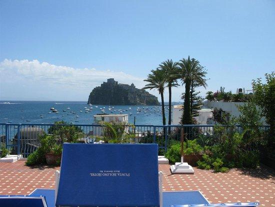 Grand Hotel Punta Molino Beach Resort & SPA: Panorama dal solarium