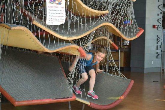 Boston Children's Museum: Rope area..
