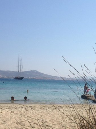 Paros Agnanti Resort : View Krios Beach