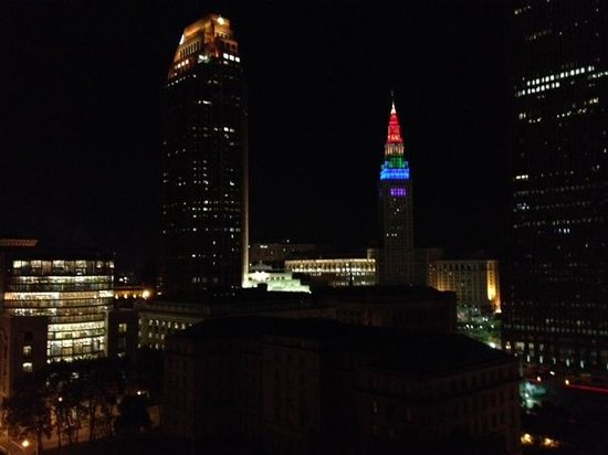 The Westin Cleveland Downtown: View from a south facing window.