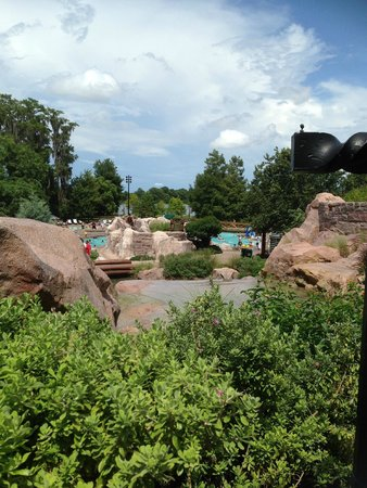 Boulder Ridge Villas at Disney's Wilderness Lodge: Pool area