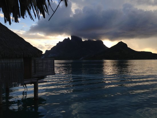 Four Seasons Resort Bora Bora: The view from our room