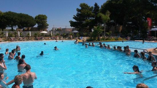 L'Oasi Di Selinunte - Club Marmara Sicilia : Mélina assure à l'aqua Gym