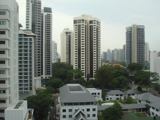 Hilton Singapore: View from our room