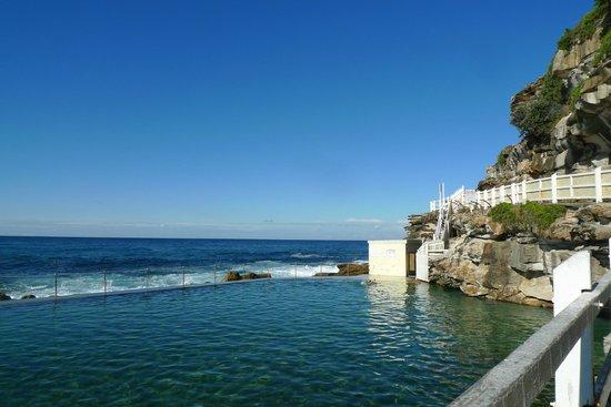 Bondi to Coogee Beach Coastal Walk : bronte sea baths