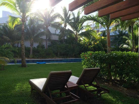 Excellence Playa Mujeres: Room view from 3002.  Lazy river...