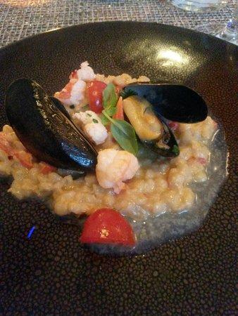 Incanto Restaurant: seafood risotto