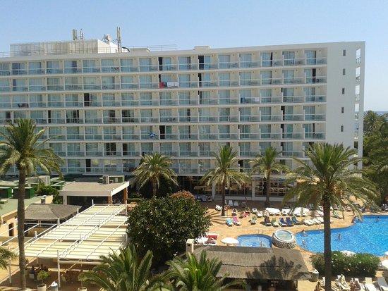 Sirenis Hotel Tres Carabelas & Spa: vista dalla camera