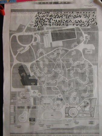 Papillon Belvil Hotel : plan de l'hotel