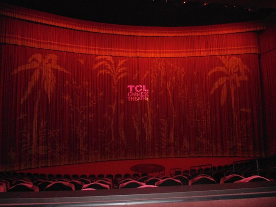 TCL Chinese Theatres: Inside picture