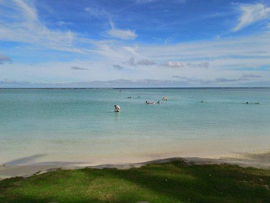 Fiesta Resort Guam: プライベートビーチ