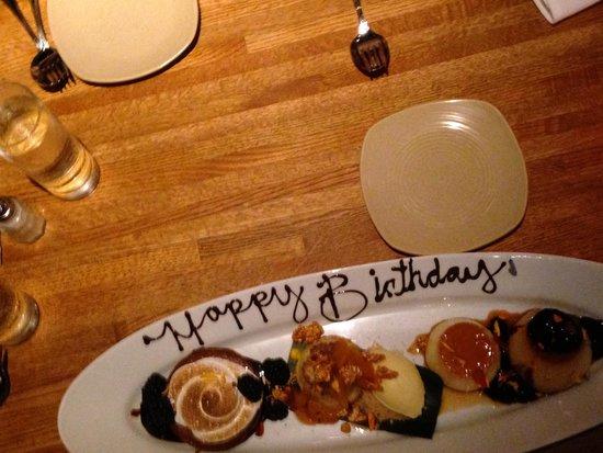 Frontera Grill : Birthday Dessert