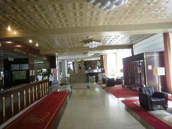 Hotel Laguna: Hotel lobby