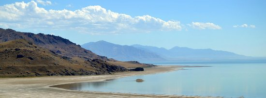 Antelope Island State Park : One of the beaches you can access
