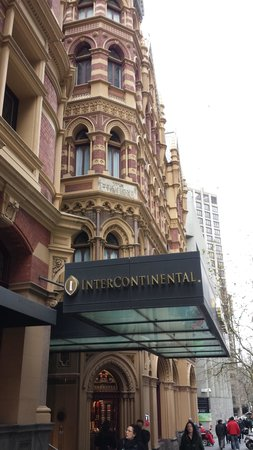 InterContinental Melbourne The Rialto : Front Daytime